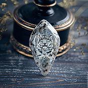Сувениры и подарки handmade. Livemaster - original item Lacquer miniature Snow Leopard on stone for jewelry. Handmade.