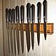 Кухня ручной работы. Ярмарка Мастеров - ручная работа. Купить Магнитный держатель для ножей. Ясень-орех. 450 мм.. Handmade.