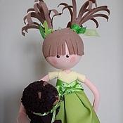 """Куклы и игрушки ручной работы. Ярмарка Мастеров - ручная работа """"Никогда его не брошу"""". Handmade."""