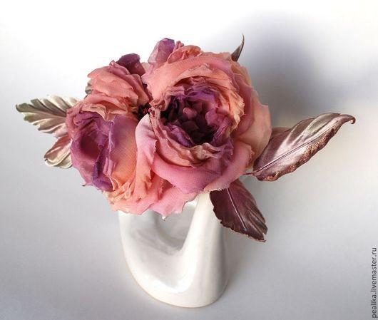 Комплекты аксессуаров ручной работы. Ярмарка Мастеров - ручная работа. Купить староанглийская роза. Handmade. Кремовый, вечернее платье