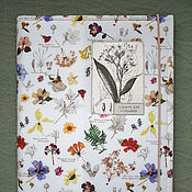 Канцелярские товары handmade. Livemaster - original item Album for a herbarium a Large Botanical (A3, for 20 plants). Handmade.