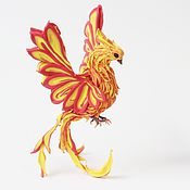 Русский стиль ручной работы. Ярмарка Мастеров - ручная работа Жар птица (статуэтка жарптица, птица феникс). Handmade.