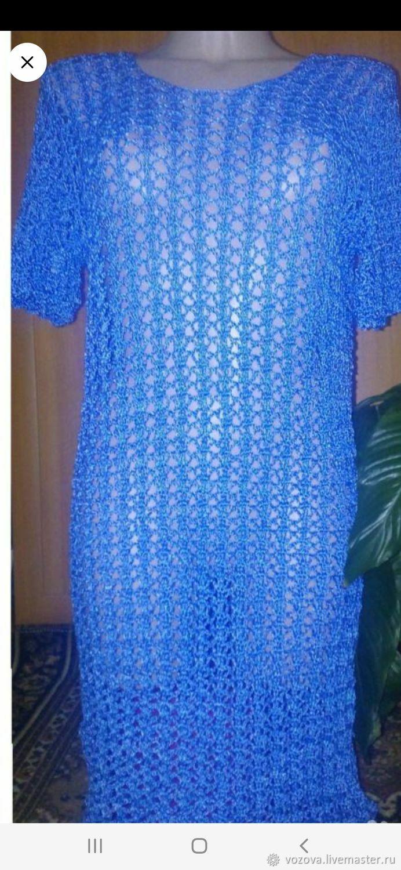 Платье с люрексом, Платья, Варнавино,  Фото №1