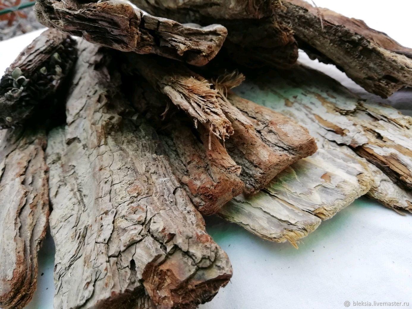 Морская кора Дрифтвуд(1кг), Природные материалы, Анапа,  Фото №1