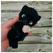 Куклы и игрушки ручной работы. Ярмарка Мастеров - ручная работа Маленькая Ночная фурия, пока просто Ночка. Handmade.