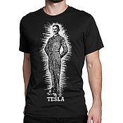 Мужская одежда handmade. Livemaster - original item T-shirt with print