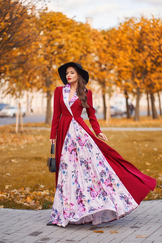 Платье в макси длине , шёлковая отделка, Платья, Санкт-Петербург,  Фото №1