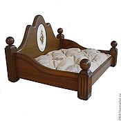 Аксессуары для питомцев ручной работы. Ярмарка Мастеров - ручная работа Кровать для собаки или кошки деревянная мебель для животных. Handmade.