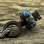 """Украшения ручной работы. Ярмарка Мастеров - ручная работа """"Ключ чародейки"""" лэмпворк кулон. Handmade."""