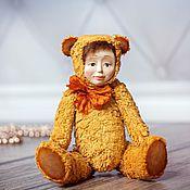 Куклы и игрушки ручной работы. Ярмарка Мастеров - ручная работа Апельсинчик Тедди долл. Handmade.