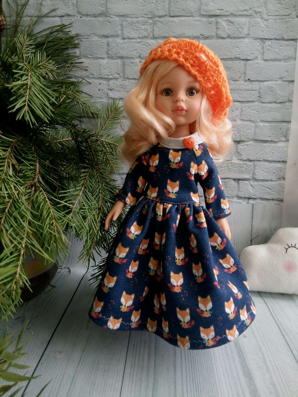 Стильное длинное платье для Паола Рейна, Одежда для кукол, Самара,  Фото №1