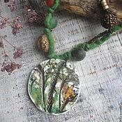 """Украшения ручной работы. Ярмарка Мастеров - ручная работа Кулон """"Травяной чай"""". Handmade."""