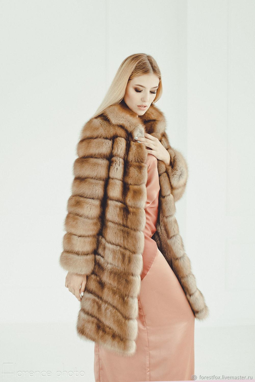 Marten fur coat, Fur Coats, Moscow,  Фото №1