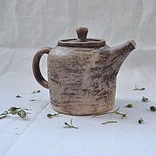 Посуда ручной работы. Ярмарка Мастеров - ручная работа Чайник керамический Запах весны. Handmade.