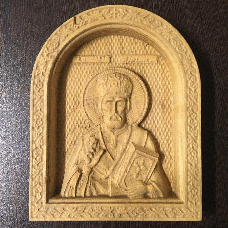 Икона «Николай чудотворец», Иконы, Тольятти,  Фото №1