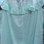 """Одежда ручной работы. Ярмарка Мастеров - ручная работа Ночная сорочка """"Нежность"""" с вышивкой. Handmade."""