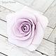 Заколки ручной работы. Набор шпилек с розами - Сиреневые (3 шт). Tanya Flower. Ярмарка Мастеров. Украшение в волосы