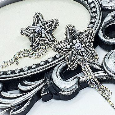 """Украшения ручной работы. Ярмарка Мастеров - ручная работа Серьги: """"Звезда"""". Handmade."""
