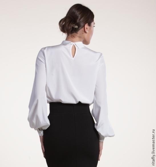 Блузки Шелковые Женские Купить