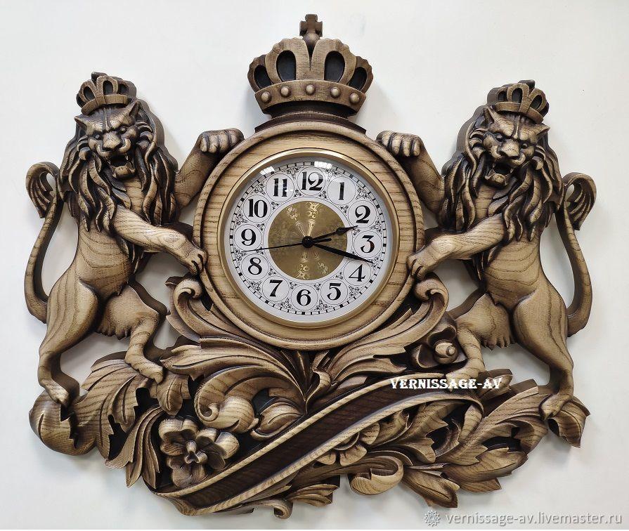 Резные часы из дерева картинки