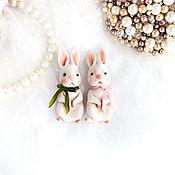 Brooches handmade. Livemaster - original item Brooch rabbit, bunny. Handmade.