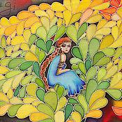 Картины и панно ручной работы. Ярмарка Мастеров - ручная работа Сны осени. Handmade.