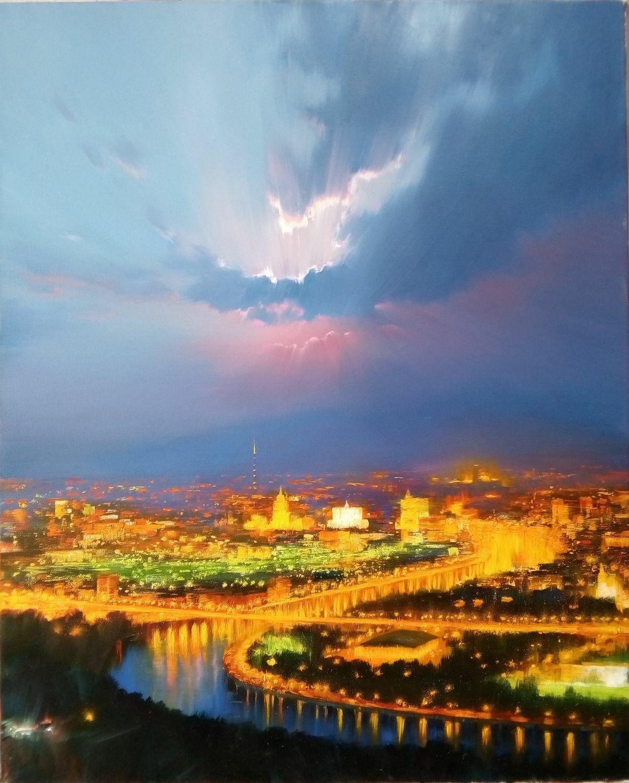 Москва, Картины, Волгоград,  Фото №1