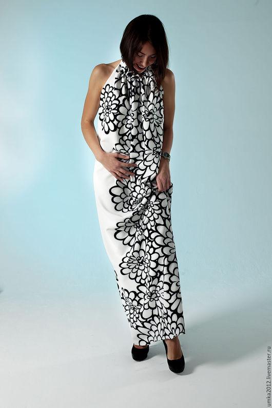 Платья ручной работы. Ярмарка Мастеров - ручная работа. Купить Платье. Handmade. Чёрно-белый, одежда