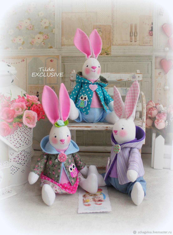 Заяц - МИНИ, Мягкие игрушки, Санкт-Петербург,  Фото №1