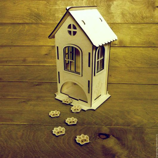 Кухня ручной работы. Ярмарка Мастеров - ручная работа. Купить Чайный домик. Handmade. Чайный домик декупаж, гравировка по дереву