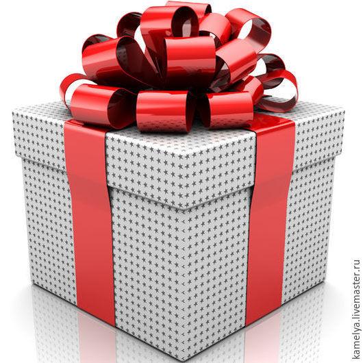 """Серьги ручной работы. Ярмарка Мастеров - ручная работа. Купить Коробка с подарком """"Сюрприз"""" за любую покупку. Handmade. Разноцветный"""