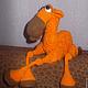 """Обучающие материалы ручной работы. Мастер-класс """"Оранжевый вербюлюд"""". Iriss. Вязаные фантазии. Ярмарка Мастеров. Мастер-класс"""