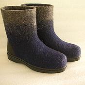 Обувь ручной работы handmade. Livemaster - original item Men short on the sole. Handmade.