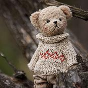 Куклы и игрушки ручной работы. Ярмарка Мастеров - ручная работа Мишка Тедди Митя.. Handmade.