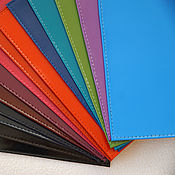 Материалы для творчества ручной работы. Ярмарка Мастеров - ручная работа Обложки на паспорт. В наличии много цветов. Handmade.