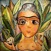 Картины и панно ручной работы. Ярмарка Мастеров - ручная работа Фрида. Handmade.