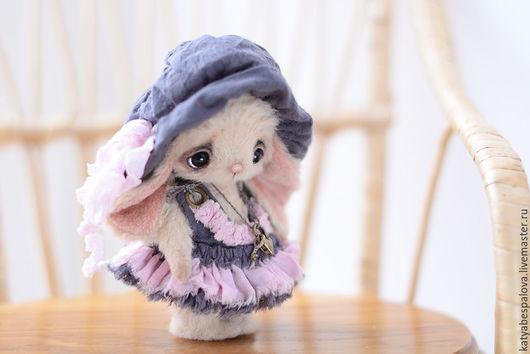 Мишки Тедди ручной работы. Ярмарка Мастеров - ручная работа. Купить Зайка Анита. Handmade. Розовый, зайка, тедди