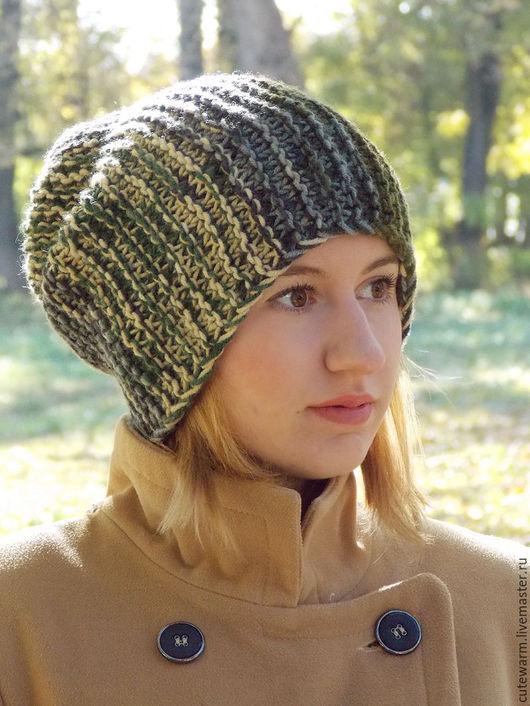 Шапки ручной работы. Ярмарка Мастеров - ручная работа. Купить Шапка бини, Вязаная шапка, Женская шапка, Шапка зимняя, Бини. Handmade.