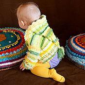 Работы для детей, ручной работы. Ярмарка Мастеров - ручная работа Кофточка для новорождённых Веселый гном. Handmade.