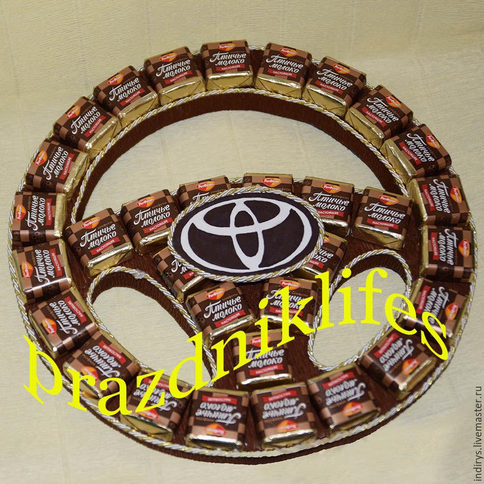 Тойота из конфет своими руками фото 165