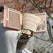 """Книги для рецептов ручной работы. Ярмарка Мастеров - ручная работа Книга """"Истории сладкоежки"""". Handmade."""