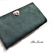 Сумки и аксессуары handmade. Livemaster - original item W145 money wallet by Feng Shui: Wood and Earth. Leather, handmade. Handmade.