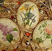 """Для дома и интерьера ручной работы. Ярмарка Мастеров - ручная работа """"Мой прекрасный сад"""" Панно-вешалки. Handmade."""