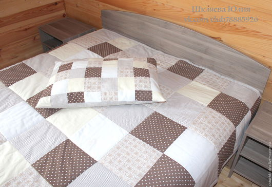 Текстиль, ковры ручной работы. Ярмарка Мастеров - ручная работа. Купить Лоскутное одеяло (200х200см). Handmade. Лоскутное одеяло, лоскутный