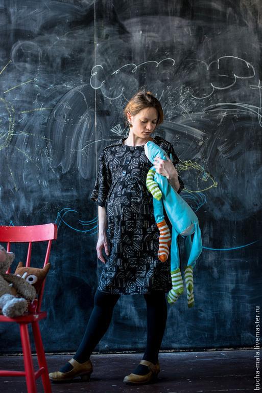 """Для будущих и молодых мам ручной работы. Ярмарка Мастеров - ручная работа. Купить Платье для беременных """"Сплошные формальности"""". Handmade."""