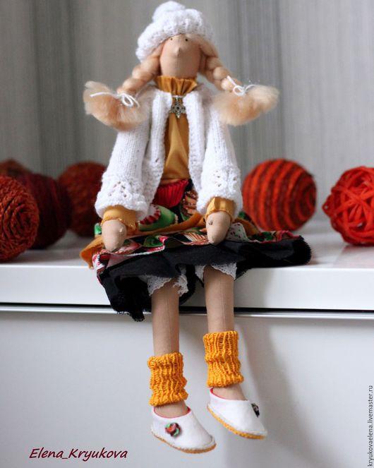 Куклы Тильды ручной работы. Ярмарка Мастеров - ручная работа. Купить Фея Мамзель Капкейк. Handmade. Золотой, текстильная кукла