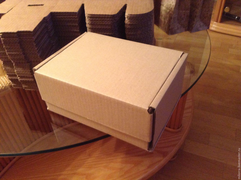 Коробка 22х16,5х10 см, самосборная, Коробки, Москва, Фото №1