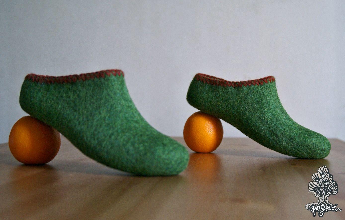 Тапочки Зелёные ( Green), Тапочки, Москва,  Фото №1