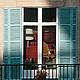 Фотокартина для интерьера гостиной или спальни «Путешествие солнечного света по Риволи», Париж. Фотография окно.  © Ануфриева Елена