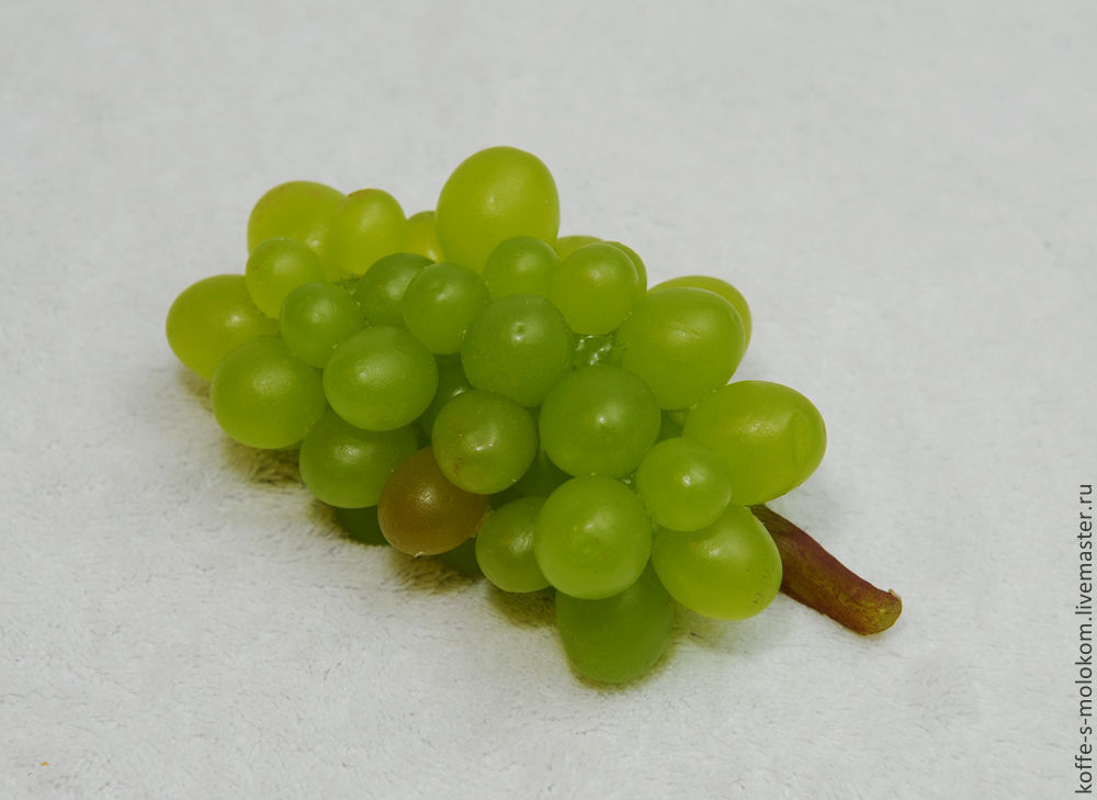 Silicone mold for soap Grapes small bunch, Form, Moscow,  Фото №1